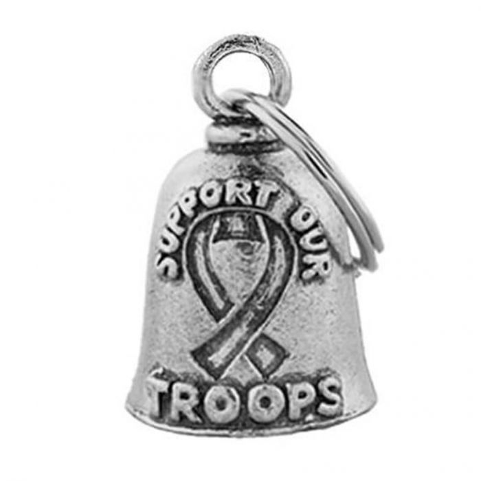 Support Our Troops Guardian Bell / Military Motorcycle Gremlin Bell